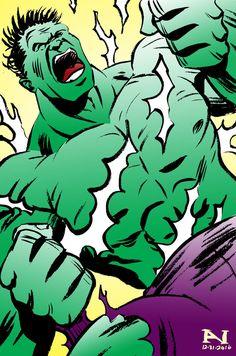 #Hulk #Animated #Fan #Art. (The Hulk) By: IanJMiller. ÅWESOMENESS!!!™ ÅÅÅ+