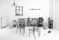 Thomas Raschke's Wireframe Art.