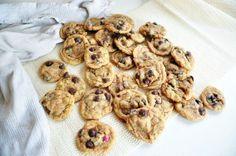Vanilla cake batter choc chip cookies (cheat)