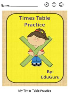 Times Tables Practice Self Assessment from EduGuru on TeachersNotebook.com -  (11 pages)  - Times Tables Practice is a quick time filler that support students in practicing and reflecting on how well they know their Times Tables. Students get the answer sheet after completing 2 wheels - They then self assess in order to reflect on their progress