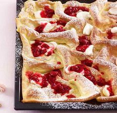 Rezept: Pfannkuchen vom Blech