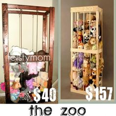 FaVe Mom Stuffed Animal Zoo Cage Tutorial
