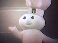 1965 Pillsbury Flaky Biscuits TV commercial w/Pillsbury Doughboy (B)