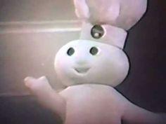 1965 Pillsbury Flaky Biscuits TV commercial w/Pillsbury Doughboy (B&W)
