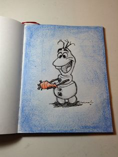 "Olaf from the movie ""Frozen"""