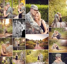 Ideas for a pre-deployment shooting, hopefully ill never have to do that again.Photo Ideas for a pre-deployment shooting, hopefully ill never have to do that again. Military Family Photos, Military Couple Pictures, Military Couples, Couple Pics, Couple Shoot, Military Couple Photography, Army Photography, Photography Poses, Friend Photography