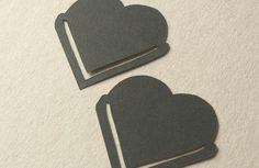 lesezeichen selbermachen herz bastelideen mit papier