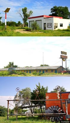 McLean, Texas. A ghost town frozen in time.
