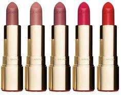 Clarins Joli Rouge Velvet Matte Lipstick Spring 2018