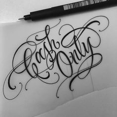 Baby Girl Tattoo Lettering 51 Ideas For 2020 Tattoo Lettering Alphabet, Chicano Tattoos Lettering, Tattoo Lettering Styles, Graffiti Lettering Fonts, Tattoo Lettering Fonts, Tattoo Design Drawings, Tattoo Script, Hand Lettering, Tattoo Designs