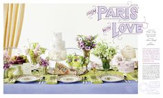 ★ DESIGN ARMY – Washingtonian Bride & Groom: From Paris With Love (Editorial Design and Art Direction) © Design Army LLC
