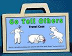 Go Tell Others Travel Case bible craft