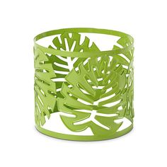 PALM LEAF JAR SLEEVE  EXCLUSIVE TO MIX & MATCH OFFER $15.00 each Part of the choose-any-2-Mix & Match selection. The metal design features a green powder coat and palm leaf motif. Enhances your favorite Jar Candle. Candle Jars, Candle Holders, Candles, Partylite, Green Powder, Your Favorite, Palm, Mix Match, Metal
