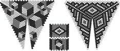 Шестиугольный треугольник | biser.info - всё о бисере и бисерном творчестве