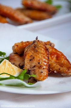 Grilled Salt and Pepper Chicken Wings - Omnivore's Cookbook