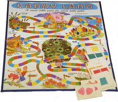 Candyland - the original!  I LOVED playing this at my grandmas (: