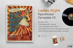 Ladies Night Flyer Template V.3