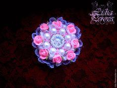 Делаем романтичную брошь «Грезы» - Ярмарка Мастеров - ручная работа, handmade