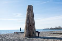 8 Architectural Winter Stations Brighten Up Toronto's Beaches