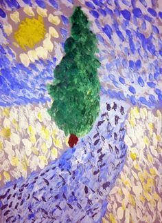 Arbres selon Van Gogh en grande section Vincent Van Gogh, Painting For Kids, Art Plastique, Oeuvre D'art, Grande Section, Projects To Try, Classroom Ideas, Attitude, School