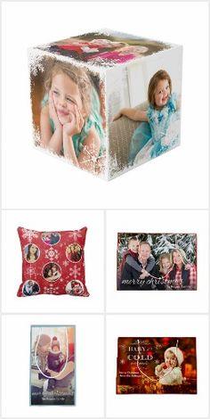 Custom Christmas Photo Gifts