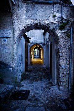 Navy blue, Ravello, Italy ✿⊱╮