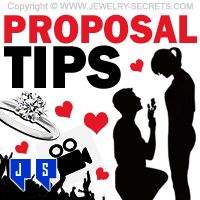 ►► PROPOSAL TIPS AND TRICKS ►► Jewelry Secrets