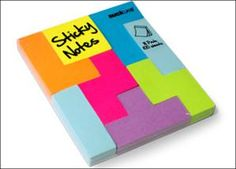 14 Awesome Stocking Stuffers for College Kids & 20Somethings: Tetris Sticky Notes