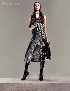 vogue crotch high boots - Google Search