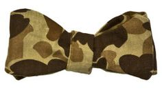 Ball and Buck Authentic 8oz Duck Camo Bow Tie
