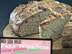 Pane senza glutine e senza lievito - Irish Soda Bread - YouTube Sin Gluten, Gluten Free, Soda Bread, Bread And Pastries, Paleo, Banana Bread, Vegetarian, Vegan, Cooking