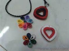 Quilling pendant,earings (stud,jumkha,different models) Bruce fashion ...