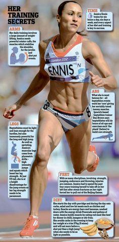 Jessica Ennis: training secrets