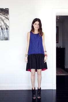 man repeller: great dress & shoes