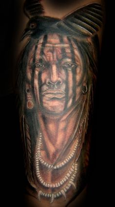 Cherokee Indian tats