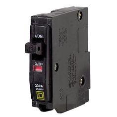 Square D Co. 30A Sp Circuit Breaker QO130CP Unit: Each, Red