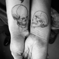 18 couple tattoos proving that love is here to stay    couple//couple goals//couple tattoos//couple tattoo ideas//matching couple tattoo//unique couple tattoo//love couple tattoo//small couple tattoo//meaningful couple tattoo//simple couple tattoo//minimalist couple tattoo//couple tattoo kings and queens//soulmate couple tattoo