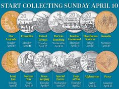 Mint coins a new legend as part of Anzac to Afghanistan Official 2016 Coin Collection | The Mercury