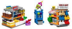 LEGO 71016 Kwik-E-Mart Squishee Dispenser and Food Aisles