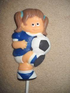 1 chocolate world cup soccer inspired sports player lollipops lollipop | sapphirechocolates - Edibles on ArtFire