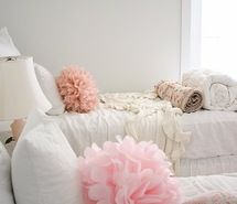 Inspiring picture bedroom, cute, photography, pillows, pink.