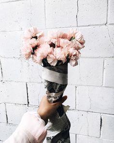 no rain, no flowers ❁ // May Flowers, Wild Flowers, Beautiful Flowers, Fresh Flowers, Beautiful Dresses, Plants Are Friends, No Rain, Pink Beige, Blush Pink