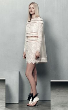 The Zimmermann Resort 2015 Lookbook Is Beyond Gorgeous via @Who What Wear- White Lace Femininity