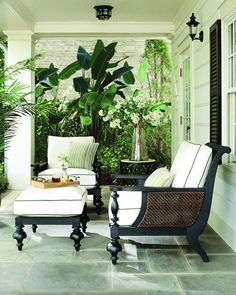 Shop Hemingway Plantation Lounge Chair from Lane Venture at Horchow, where you'll find new lower shipping on hundreds of home furnishings and gifts. West Indies Decor, West Indies Style, East Indies, Tropical Home Decor, Tropical Houses, Tropical Furniture, Tropical Interior, Home Decor, Courtyards