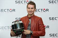 Jorge Lorenzo Presents New 'Sector' Collection - Pictures - Zimbio