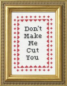17 Cross-Stitches That Say What You're Actually Thinking