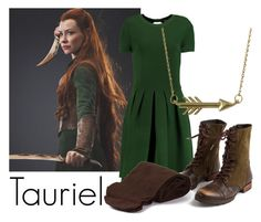 """Tauriel"" by katwhisky ❤ liked on Polyvore featuring Valentino, Steve Madden, Biba, Jewel Exclusive, tauriel, Mirkwood and lhobbit"
