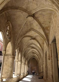Convent de San Agustin, Barcelona.
