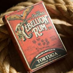 Rebellion Rum Playing Cards