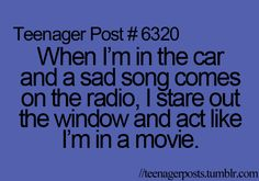 【 Because Life 】 Relatable, post, so true, radio Teenager Quotes, Teen Quotes, Teen Memes, Teenager Posts Love, Funny Relatable Memes, Funny Quotes, Relatable Posts, Funny Teen Posts, Teen Life